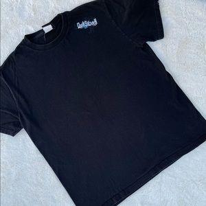 Quiksilver Black T-Shirt Tee sz L